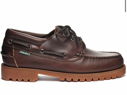 SEBAGO ACADIA DarkBrown-Gum