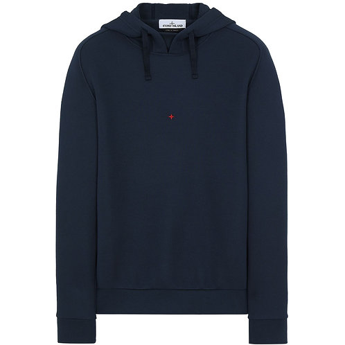STONE ISLAND MARINA COTTON/POLYESTER SEAQUAL® YARN FLEECE