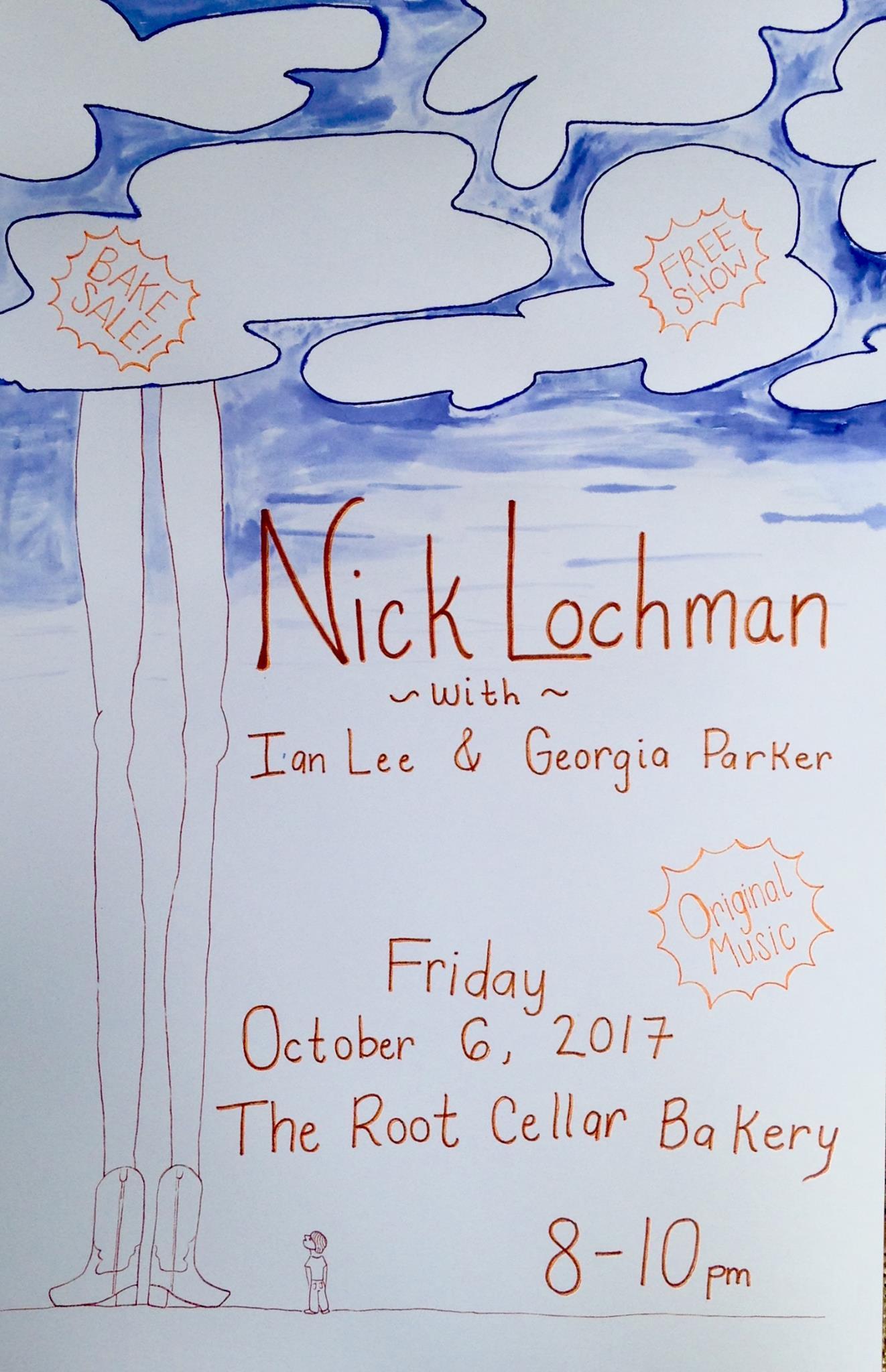 Nick Lochman Poster
