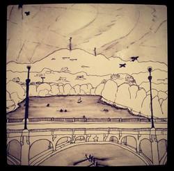 Town Lake Bridge