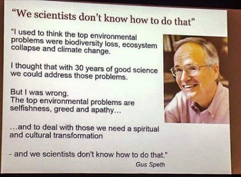 WHAT SCIENCE CAN'T DO