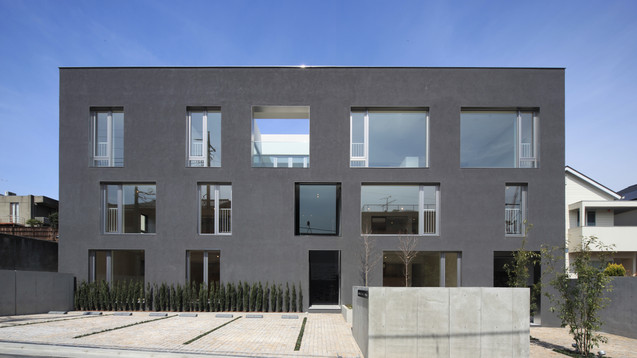 15WINDOWS−池田山の集合住宅-*