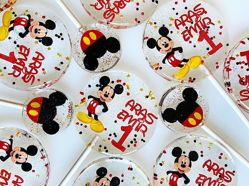 Mickey Mouse Tek veya Çift İsim ve Yaş