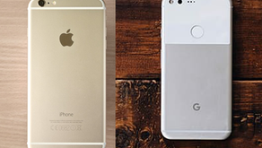 UX Case Study of the Pixel 4 vs iPhone 8