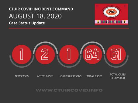 CTUIR ICT UPDATE | 8.18.2020