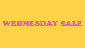 WEDNESDAY SALE: 25% OFF ON ALL TAPES