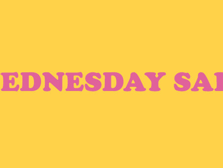 WEDNESDAY SALE: 30% OFF ON ALL CDs