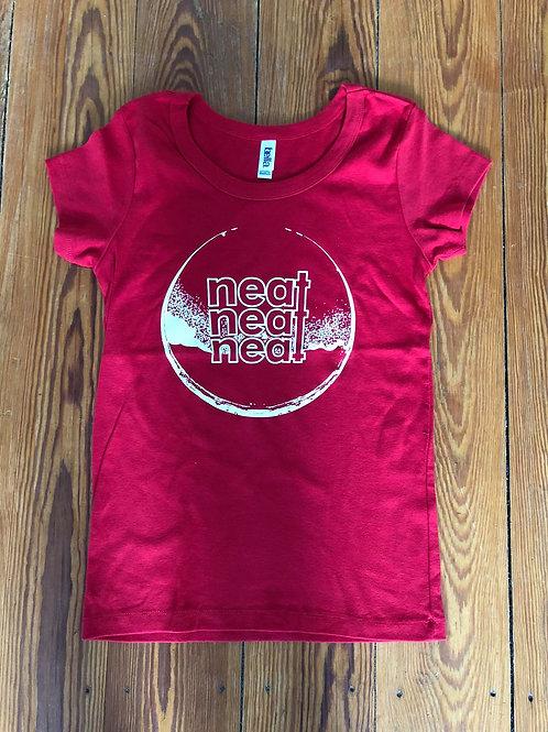 Neat Neat Neat - Girly Shirt Red