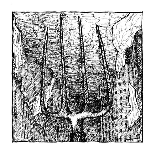 "Der Feine Herr Soundso / Moloch - 7"" Split EP"