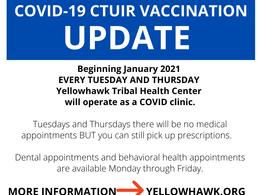 CTUIR ICT COVID-19 Update | 1.4.2021
