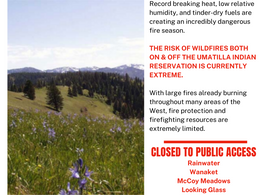 Current CTUIR Fire & Air Quality Information