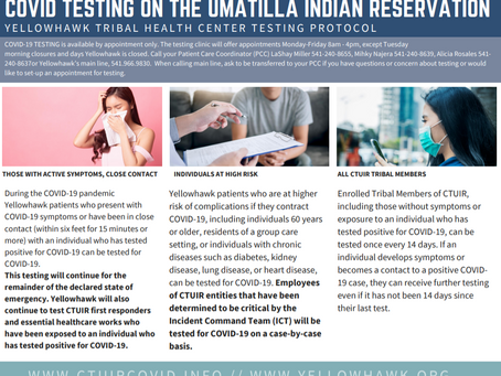 CTUIR ICT UPDATE | 8.10.2020