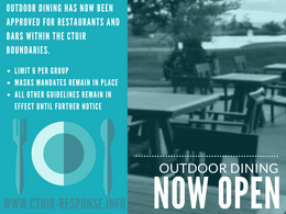 Outdoor dining now open on Umatilla Indian Reservation