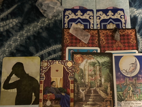 What is a message meant to find you for Libras new moon? card reveal