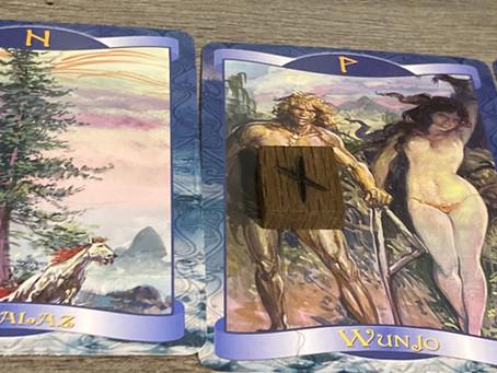 Spiritual collective rune reading
