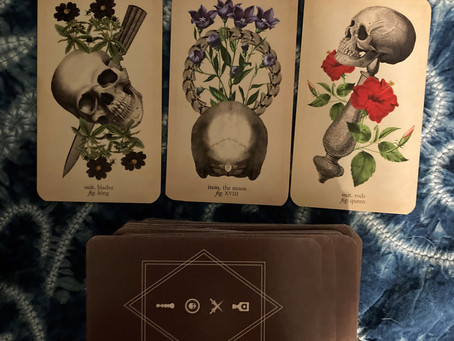 New deck and extra spiritual collective reading for new moon in Virgo :)