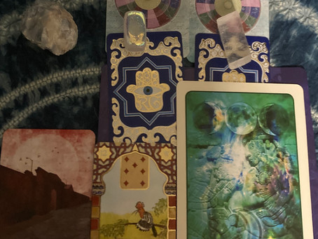 what is something to be mindful during Jupiter stationing direct? Card reveal