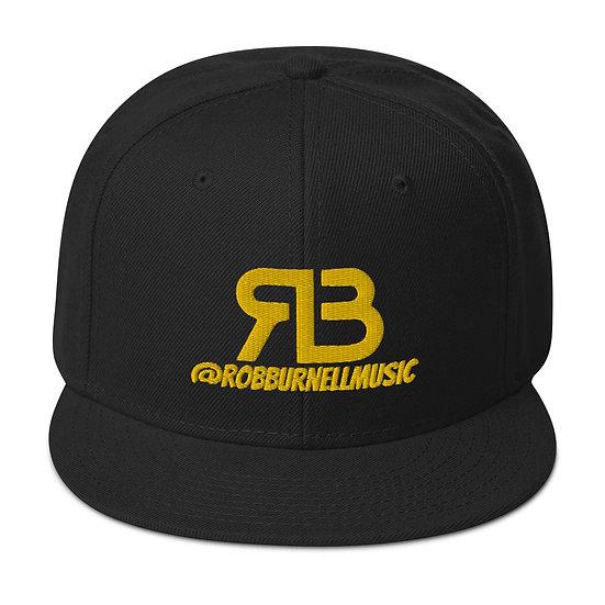 Rob Burnell Music Snapback (GOLD)