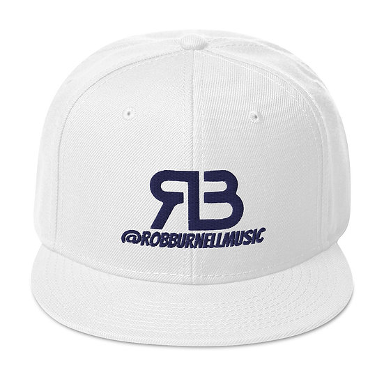 Rob Burnell Music Snapback (NAVY)