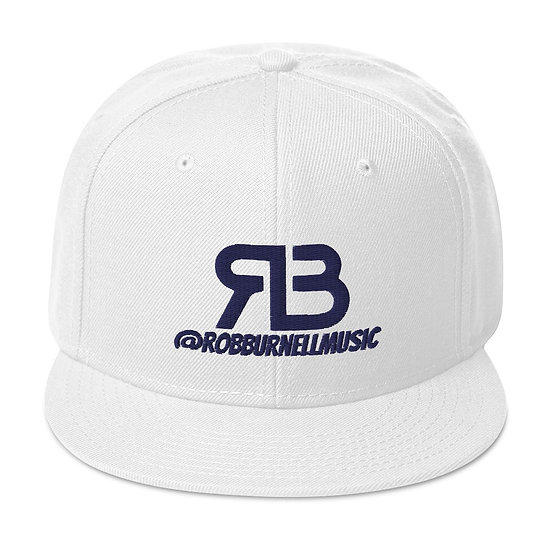 Rob Burnell Music Snapback (NAVY)