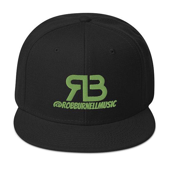 Rob Burnell Music Snapback (GREEN)