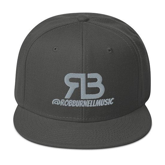 Rob Burnell Music Snapback (GRAY)