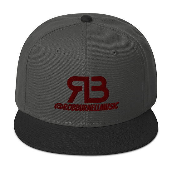 Rob Burnell Music Snapback (MAROON)