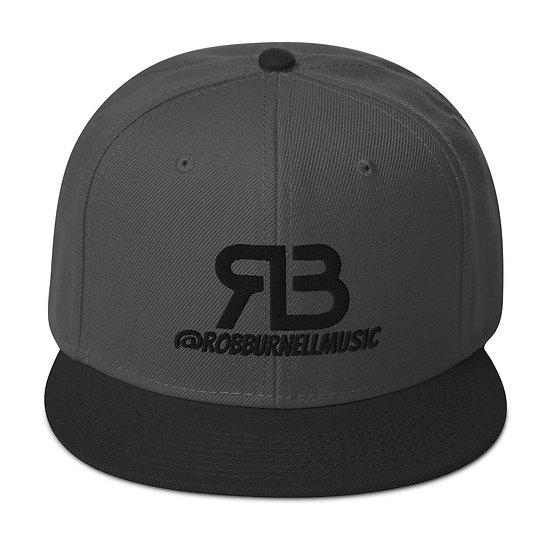 Rob Burnell Music Snapback (BLACK)