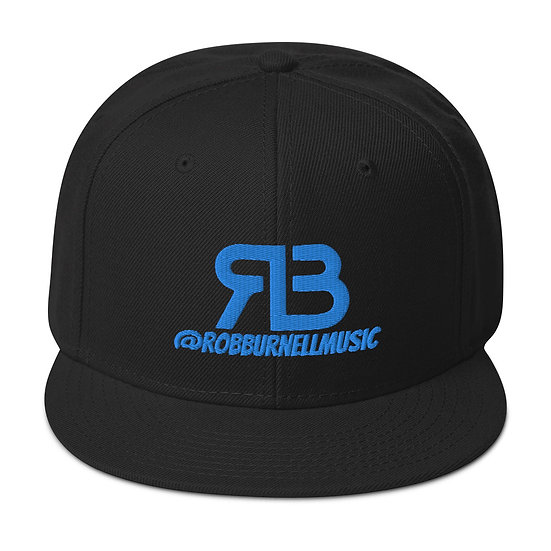 Rob Burnell Music Snapback (BLUE)
