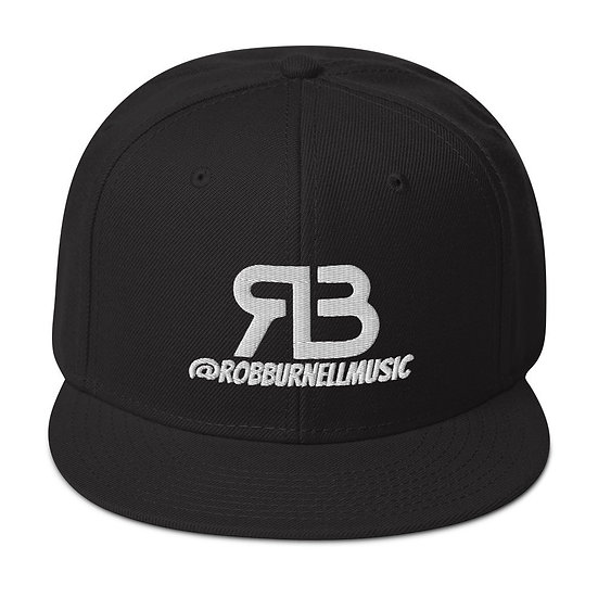 Rob Burnell Music Snapback (WHITE)