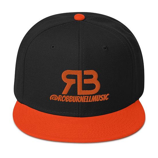 Rob Burnell Music Snapback (ORANGE)