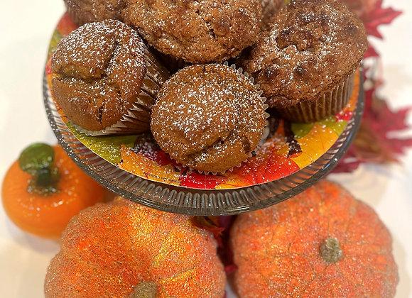 Jumbo Pumpkin Spice Muffins