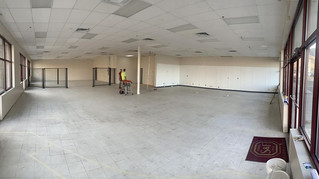 NEW GYM under Construction