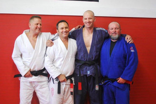 NEW Brazilian Jiu-Jitsu Black Belts at Lowell Anderson Jiu Jitsu Headquarters