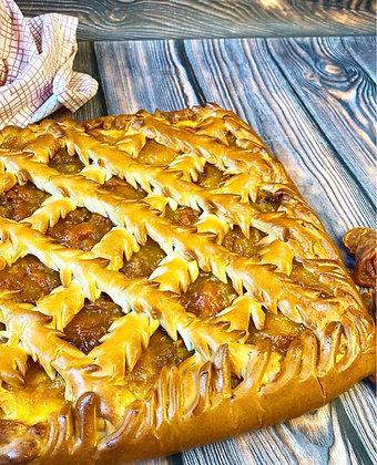 Пирог с абрикосом 1/1,5 кг
