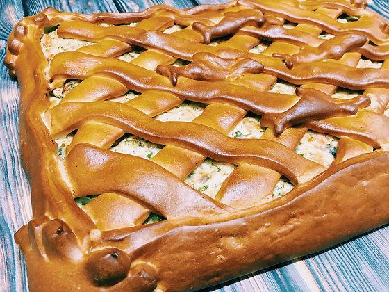 Пирог с красной рыбой 1/1,5 кг
