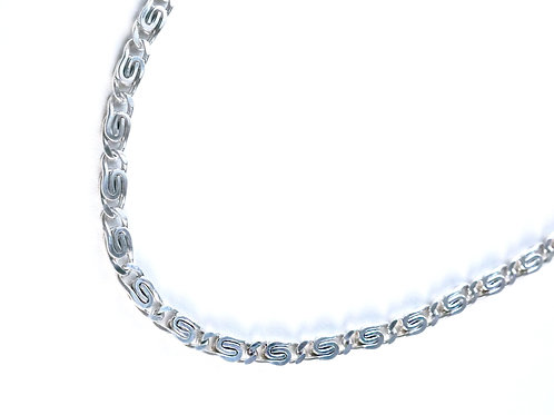 Sterling S-link necklace