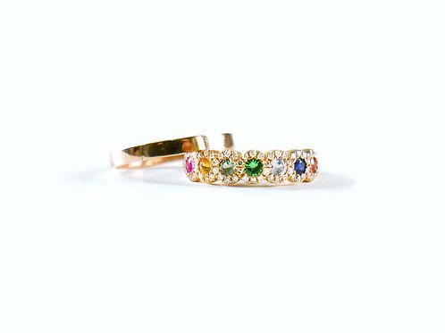 Sapphire Garden (Ring)