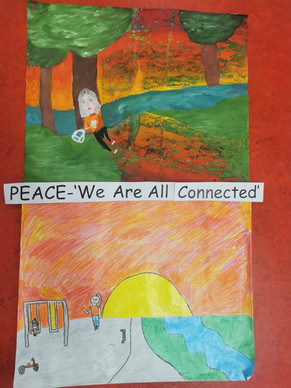 Peace- We are all connected