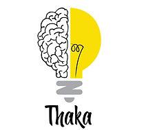 Thaka Logo with Slogan - White Backgroud