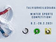 Talviurheiluskaba käynnissä 8.2 - 28.2.2021!