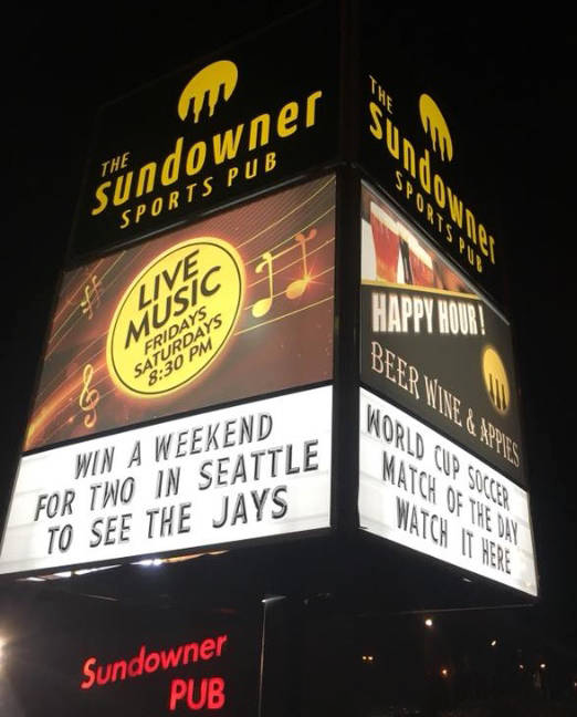 Sundowner Pub in Delta, BC