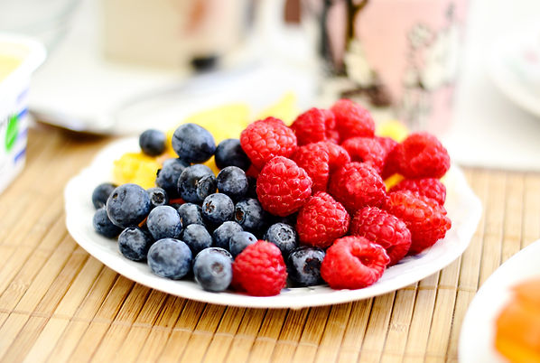 keto berries fruits