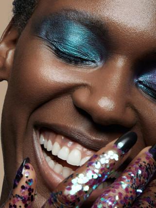 britta tess Kaefmueller black model