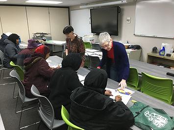 Sue and Sandy's Class.JPG