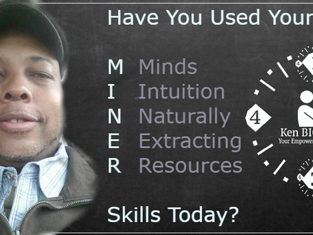 Your Success Requires A M.I.N.E.R.