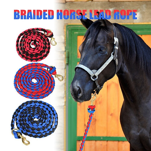 Braided lead rope 2-3mts