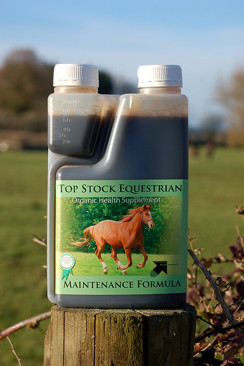 Top Stock Maintenance Formula for health, shine and condition
