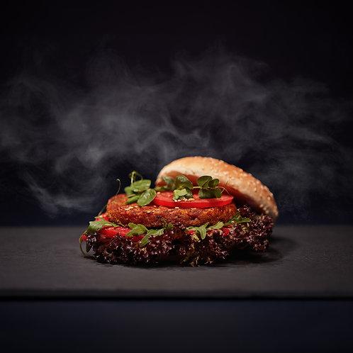 40 No Food Waste Tomato Burger, Buns, Sauce