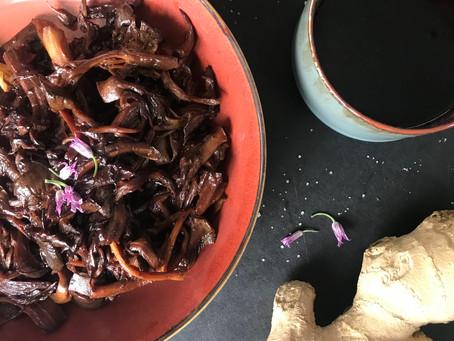 Teriyaki Pulled Fungi